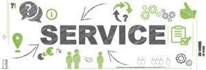 service gut versichert